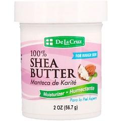De La Cruz, 全乳木果油,保濕霜,2盎司(56.7克)