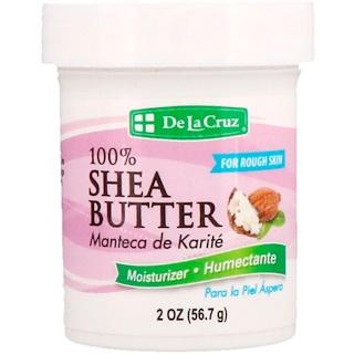 De La Cruz, 100%シアバター、モイスチャライザー、2オンス (56.7 g)