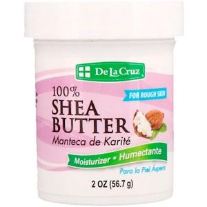 Дэ Ля Круз, 100% Shea Butter, Moisturizer, 2 oz (56.7 g) отзывы