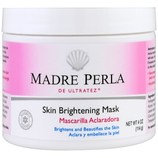 De La Cruz, Madre Perla, Skin Brightening Mask, 4 oz (114 g)