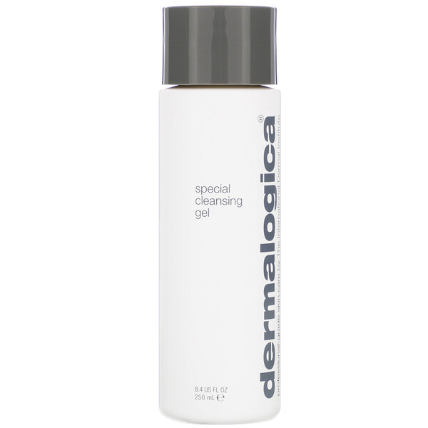 Dermalogica, Daily Skin Health, Special Cleansing Gel, Gentle Foaming Cleanser, 8.4 fl oz (250 ml) (Discontinued Item)