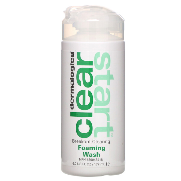 Dermalogica, Clear Start, Breakout Clearing, Foaming Wash, 6.0 fl oz (177 ml) (Discontinued Item)