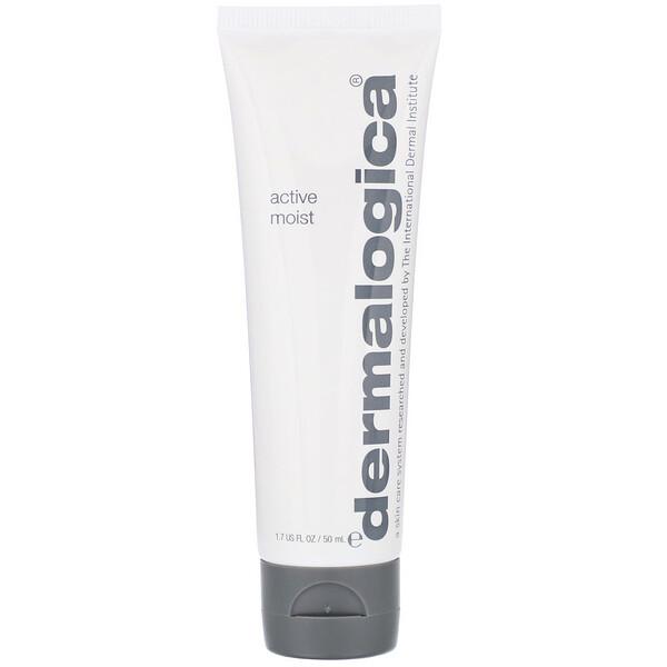 Dermalogica, Active Moist, Daily Skin Health, 1.7 fl oz (50 ml) (Discontinued Item)