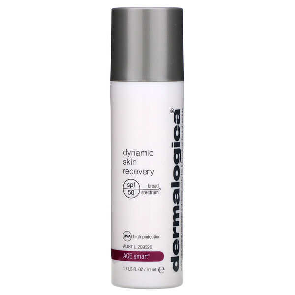 Dermalogica, Age Smart, Dynamic Skin Recovery, Hydrating, Firming Age Defense, SPF 50, 1.7 fl oz (50 ml) (Discontinued Item)