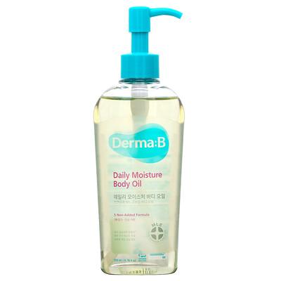 Купить Derma:B Увлажняющее масло для тела на каждый день, 200мл (6, 76жидк.унций)