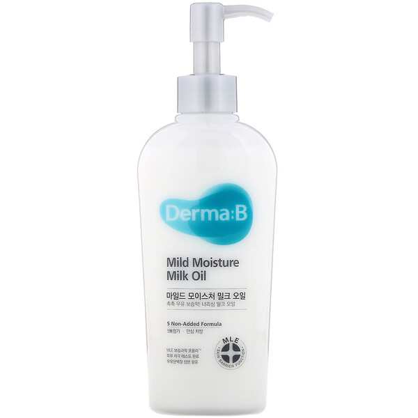 Derma:B, Mild Moisture Milk Oil, 6.76 fl oz (200 ml)