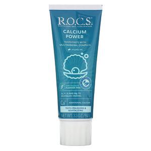 R.O.C.S., Calcium Power Toothpaste, 3.3 oz (94 g) отзывы
