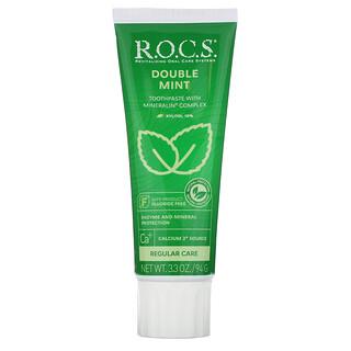 R.O.C.S., Double Mint Toothpaste,  3.3 oz (94 g)
