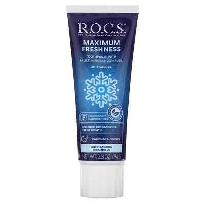 R.O.C.S. зубная паста для максимальной свежести, 94г (3,3унции)