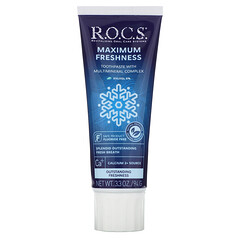 R.O.C.S., 更強清新牙膏,3.3 盎司(94 克)