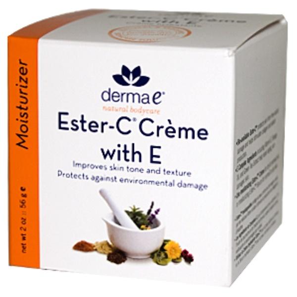 Derma E, Ester-C Creme with E, 2 oz (56 g) (Discontinued Item)