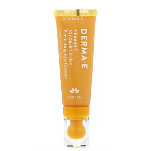 Дерма Е, Vitamin C, No Dark Circles Perfecting Eye Cream, 0.5 oz (14 g) отзывы