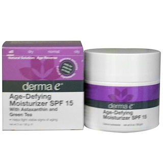 Derma E, Age-Defying Moisturizer SPF 15, 2 oz (56 g)