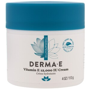 Derma E, Крем с содержанием витамина E 12000 МЕ, 4 oz (113 г)