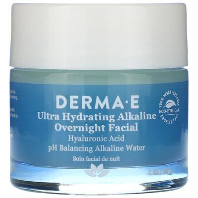 Купить Derma E Ultra Hydrating Alkaline Overnight Facial, 2 oz (56 g)