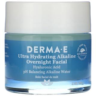 Derma E, Ultra Hydrating Alkaline Overnight Facial, 2 oz (56 g)