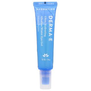 Derma E, Ultra Hydrating Alkaline Water Eye Gel, 0.5 oz (14 g)