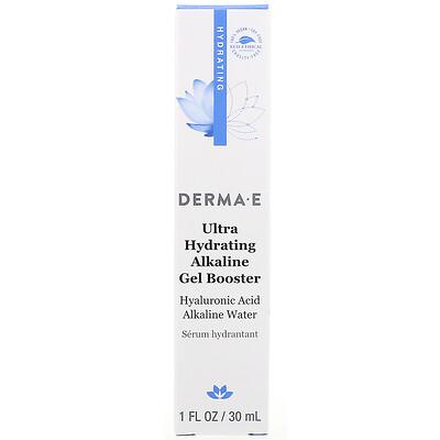 Купить Derma E Ultra Hydrating Alkaline Gel Booster, 1 fl oz (30 ml)