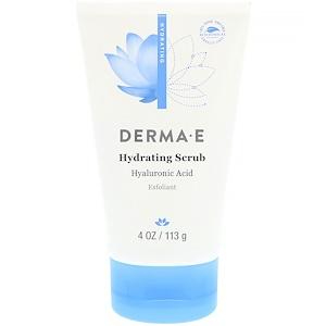 Дерма Е, Hydrating Scrub with Hyaluronic Acid, 4 oz (113 g) отзывы покупателей