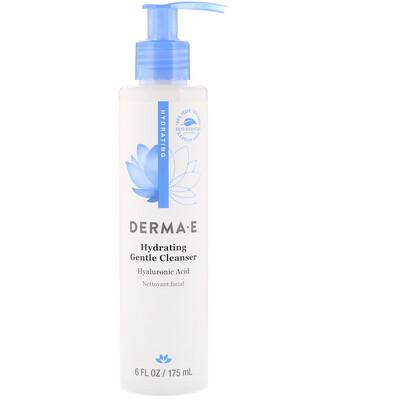 Купить Derma E Мягкое увлажняющее средство для очищения кожи с гиалуроновой кислотой, 175мл (6жидк.унций)
