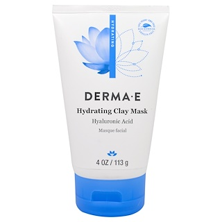 Derma E, Hydrating Clay Mask, 4 oz (113 g)