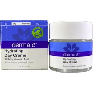 Derma E, Hydrating Day Cream, With Hyaluronic Acid, 2 oz (56 g) инструкция, применение, состав, противопоказания