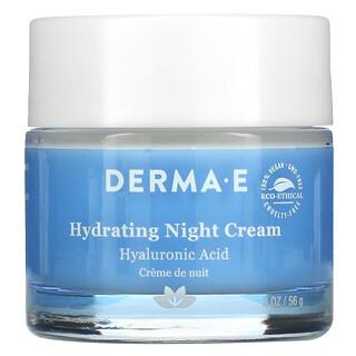 Derma E, Crema hidratante nocturna 2 oz (56 g)