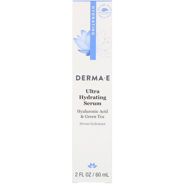 Derma E, Ultra Hydrating Serum, 2 fl oz (60 ml)