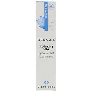 Дерма Е, Hydrating Mist, 2 fl oz (60 ml) отзывы