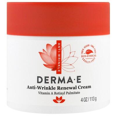 Derma E Восстанавливающий крем от морщин, 113 г (4 унции)