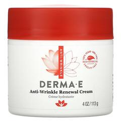 Derma E, 防皺更新霜,4 盎司 (113 克)