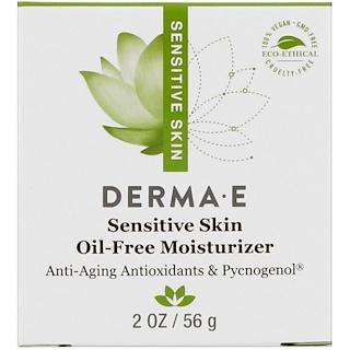 Derma E, Hidratante sem Óleo para Peles Sensíveis, 2 oz (56 g)