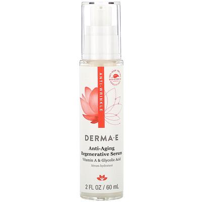 Купить Derma E Anti-Wrinkle Regenerative Serum, 2 fl oz (60 ml)