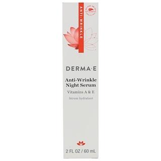 Derma E, Anti-Wrinkle Night Serum, 2 fl oz (60 ml)