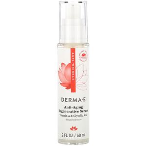 Дерма Е, Anti-Wrinkle Regenerative Serum, 2 fl oz (60 ml) отзывы покупателей