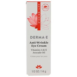 Derma E, Anti-Wrinkle Eye Cream, 1/2 oz (14 g)