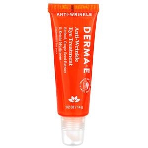 Дерма Е, Anti-Wrinkle Eye Treatment , 1/2 oz (14 g) отзывы покупателей