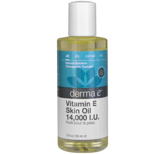 Derma E, Vitamin E Skin Oil, 14,000 IU, 2 fl oz (60 ml)
