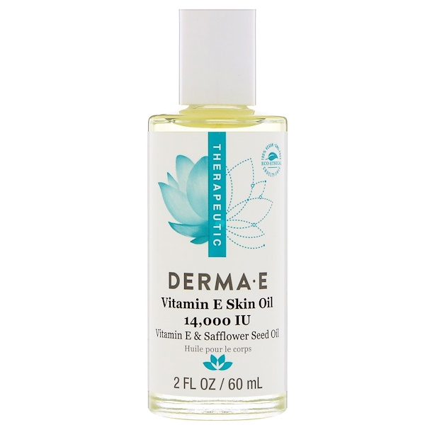 Derma E, ビタミンEスキンオイル、14,000 IU、2 fl oz (60 ml) (Discontinued Item)