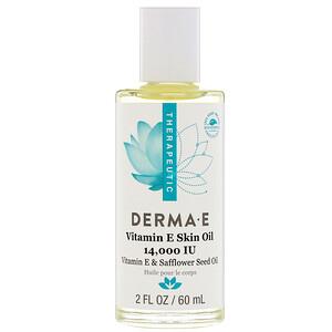 Дерма Е, Vitamin E Skin Oil, 14,000 IU, 2 fl oz (60 ml) отзывы покупателей