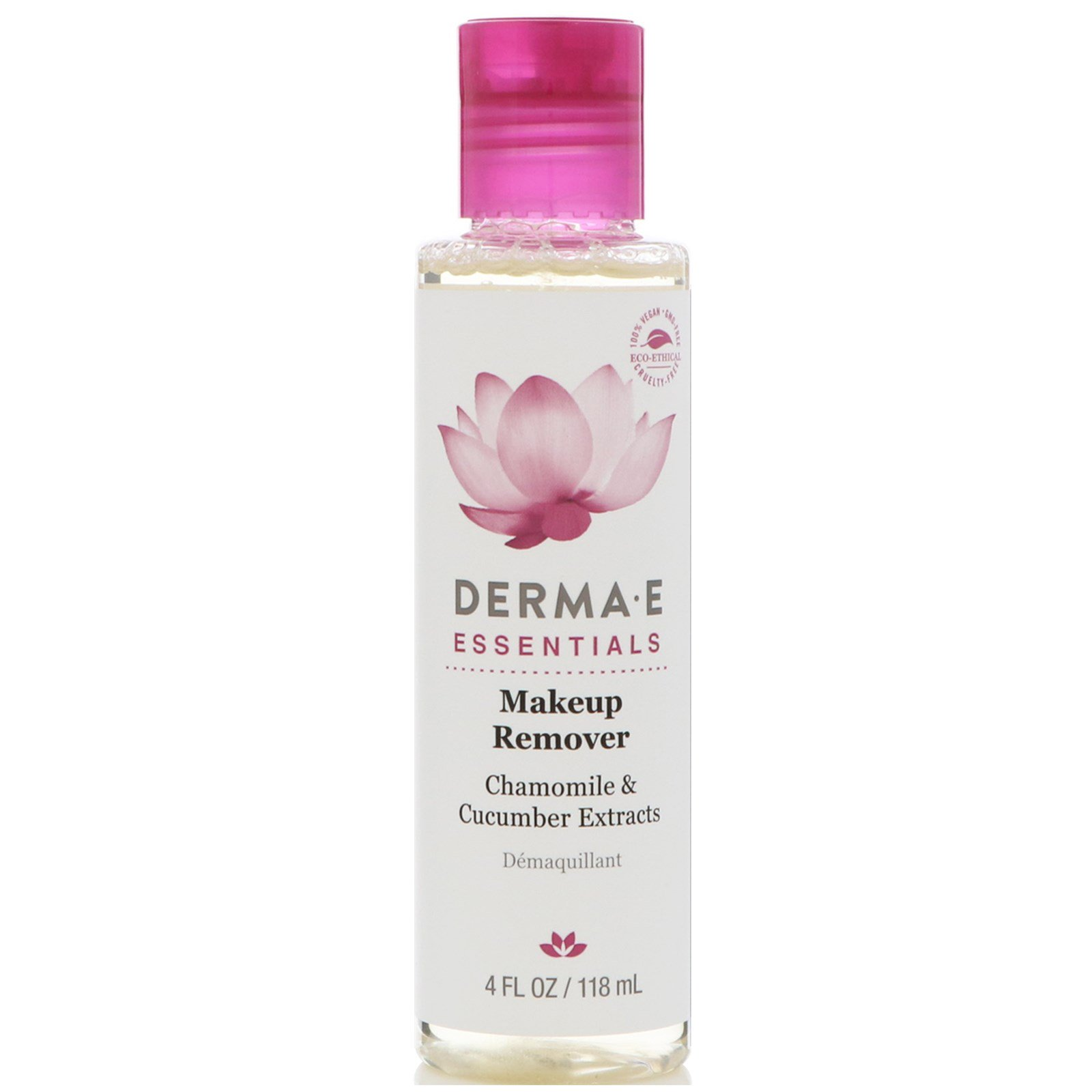 DERMA-E - Makeup Remover with Chamomile & Cucumber Extracts - 4 fl. oz. (pack of 2) A+D Original Ointment,16 oz