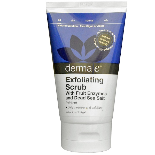 Derma E, Exfoliating Scrub , 4 oz (113 g) (Discontinued Item)