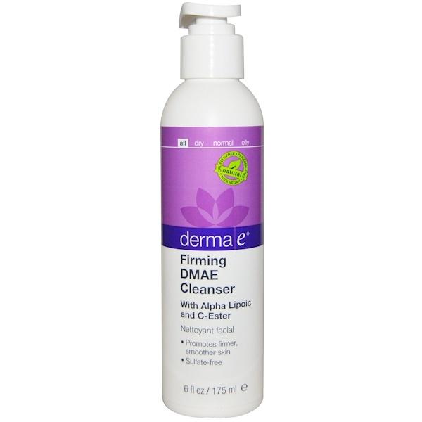 Derma E, Firming DMAE Cleanser, 6 fl oz (175 ml)