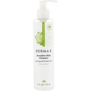 Дерма Е, Sensitive Skin Cleanser, 6 fl oz (175 ml) отзывы покупателей