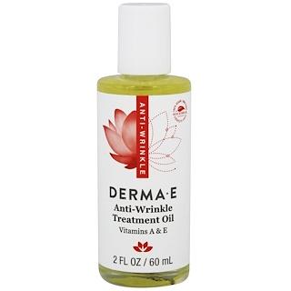 Derma E, Омолаживающее масло с витамином А, 2 жидких унции (60 мл)