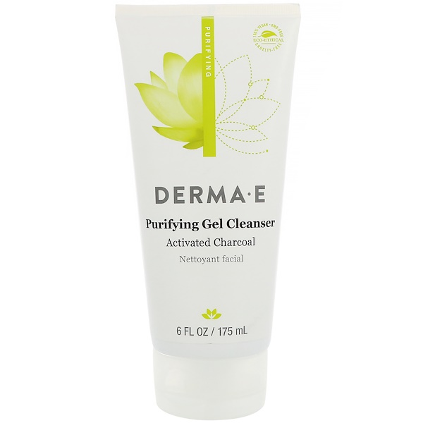 Derma E, Purifying Gel Cleanser, 6 fl oz (175 ml)