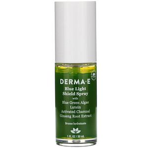 Дерма Е, Blue Light Shield Spray, 1 fl oz (30 ml) отзывы