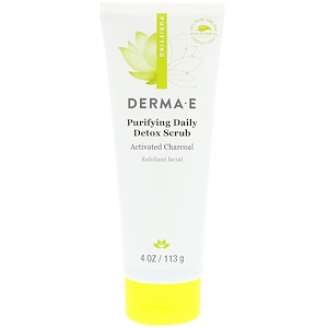 Derma E Purifying Daily Detox Scrub 4Oz 113G #De1230