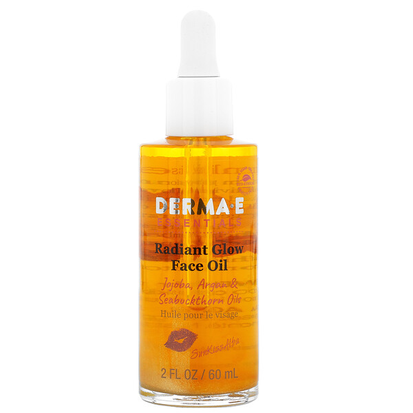 SunKiss Alba, Radiant Glow Face Oil, Jojoba Argan & Seabuckthorn Oils , 2 fl oz (60 ml)