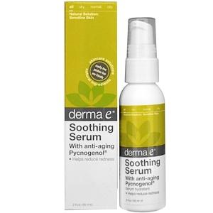 Дерма Е, Soothing Redness Reducing Serum, 2 fl oz (60 ml) отзывы покупателей